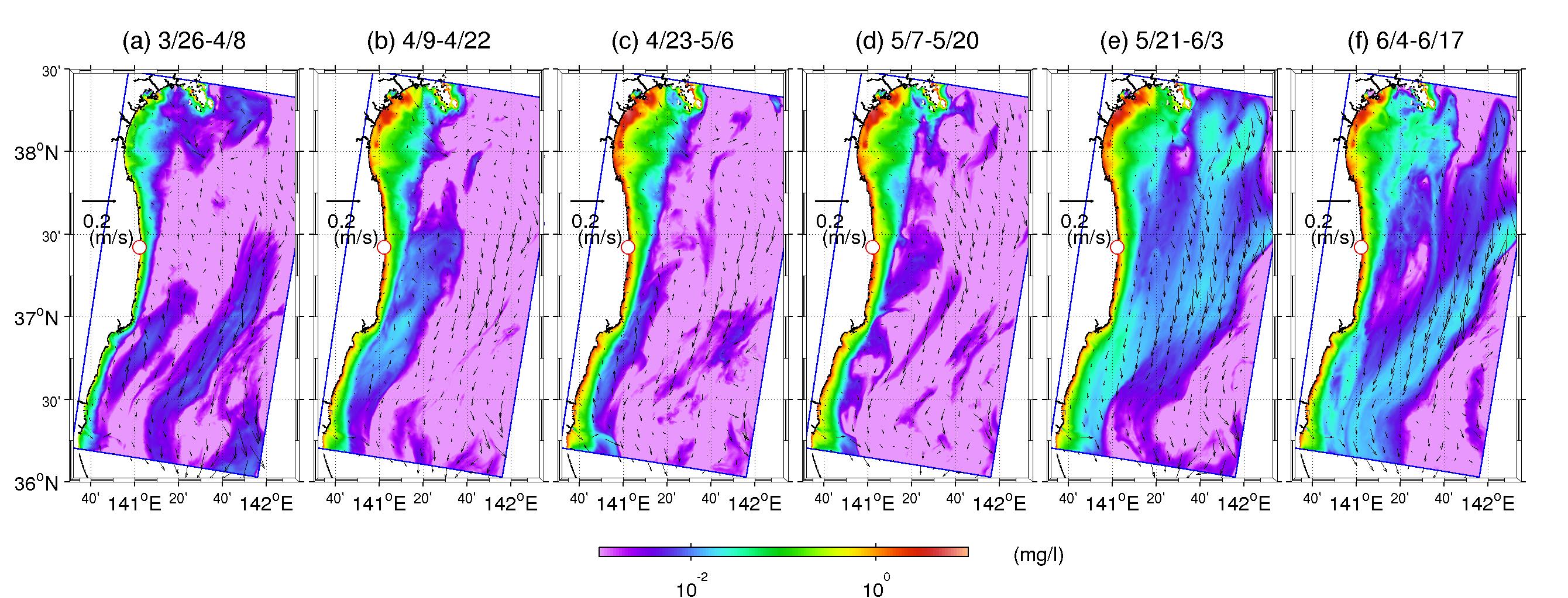 Fukushima Dispersal